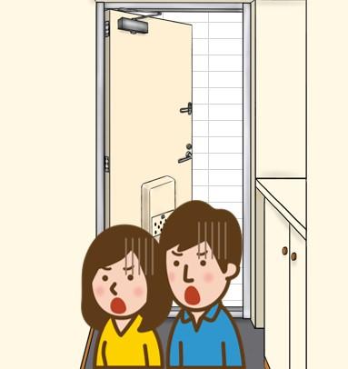 ショックを受ける夫婦